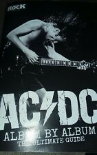 ACDC Album by Album The Ultimate Guide 32 Pages Classic Rock Booklet+ B/W Poster