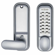 Hold Back Digital Push Button Commercial Mechanical Door Lock - Eclipse ED20
