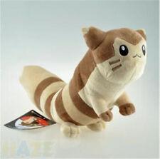 Cute Furret Pokemon Big Tail Plush Doll Toys 47cm Evolution Stuffed Kid Baby Toy