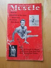 MUSCLE SCULPTURE bodybuilding gay interest magazine/WALT BELAS 3-58