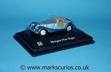 Cararama 1:72 - Morgan Plus Eight - Top Down - Blue