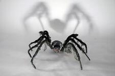 Riesenspinne schwarz ca. 95 cm biegsam Deko Halloween Horror