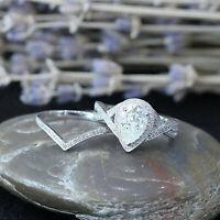 2.25 Ct Pear Shape Diamond Halo Engagement Bridal Ring Set 14K White Gold Over