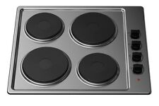 Kitchenplus KP20 Stainless Steel 4 Zone Electric Hob Cooker - 60cm
