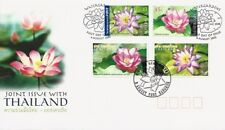 2002 Australia - Water Lilies - Joint Issue with Thailand Fdi Fdc