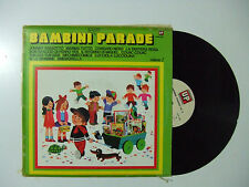 Bambini Parade Volume 2  - Disco Vinile 33 Giri LP Album Compilation ITALIA 1977