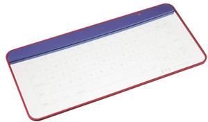 Q-gadget Glass Keyboard Touch Pad for Mac & Windows Bluetooth UPQ KB02/BG NR