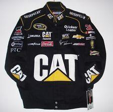 Size M Nascar Ryan Newman Cat Caterpillar Cotton Embroidered Jacket JH Design