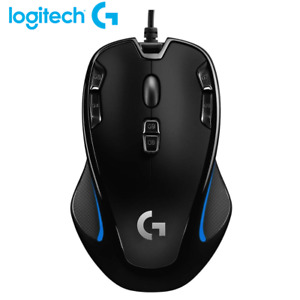 Brand New Logitech G300s Wired USB Optical 2500dpi Gaming Mouse for PC Mac
