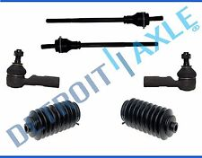 NEW 6pc Front Suspension Inner Outer Tie Rod + Boot Kit Savana Express 2500 3500