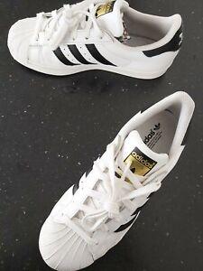 "Adidas Originals Superstar Black/White Trainers Size 5.5  ""EXCELLENT CONDITION"""