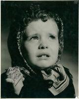 Maragert O'Brien (Vintage) signed photo COA