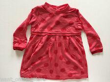 BNWT Zara Baby Red Spot Dotty Dress 3 - 6 Months (68 cm) Long sleeved