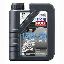 LIQUI MOLY Olio Motore Motorbike 4T 15W-50 Street 2555 1 lt