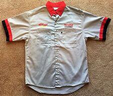 TERRY LABONTE Signed Autographed Kellogg's Crew Shirt, Hendrick, NASCAR, JSA