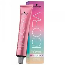 Schwarzkopf IGORA ROYAL Pearlescence Hair Color 60ml TREND COLOURS