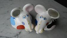 Animal Park Porcelain Villeroy and Boch S & P Mice Rosemarie Benedikt Catsy