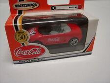Matchbox Mattel Wheels 1:66 Coca Cola MGF 1.8i #2 Neuwertig OVP
