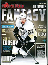 The Hockey News 2014-15 Ultimate Fantasy Pool Guide Sidney Crosby EX 012916jhe