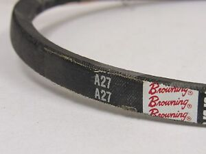 BROWNING A27 V-BELT 1/2 X 29.2 IN. WRAPPED NEW OLD STOCK