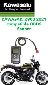 Kawasaki Z900 Z900RS 2021 Compatible OBD2  FI Scanner