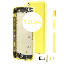 OEM Genuine Back Housing Replacement Battery Cover Frame For iPhone 5C+Logo