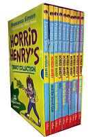 Horrid Henry's Cheeky Collection 10 Books Box Set Children Pack Francesca Simon