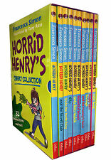 Horrid Henry's Cheeky Collection 10 Books Box Set Children Pack Francesca Simon