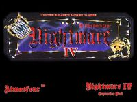 Nightmare 4 IV Video Board Game Video Tape VCR VHS DVD Elizabeth Bathory