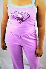 Hello Kitty Pajama | Tank Top And Pant Set
