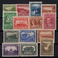 G129777/ NEWFOUNDLAND / CANADA / LOT 1923 - 1928 MINT MH – CV 180 $