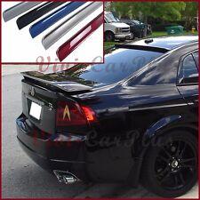 For 04-08 Honda Acura TL Sedan 4DR Painted B Type Roof Spoiler Rear Boot PU Wing