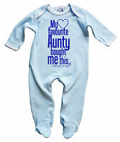 """Dirty Fingers Baby Boy Sleep suit Gift My Favourite Aunty bought Me this"""""""