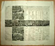 CARTE DU GOUVERNEMENT CIVILE DE TOUTE LA FRANCE par Chatelain 1708