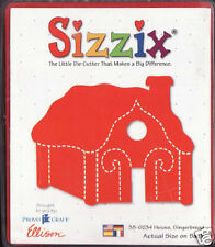 Sizzix Originals GINGERBREAD HOUSE 38-0234 RETIRED! HTF