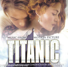 JAMES HORNER - Music From The Motion Picture Titanic (UK 15 Tk CD Album)