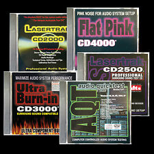 AUDIO TEST CD SET of 5 CALIBRATION and Setup Discs Plus and Awesome Bonus App