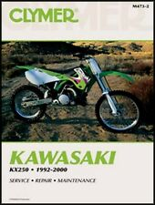 CLYMER SERVICE REPAIR MANUAL KAWASAKI KX250 1992-2000 KX 250 93 94 95 96 97 98