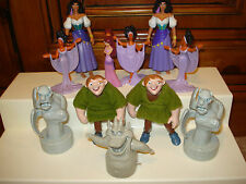 11 DISNEY CHARACTER HUNCHBACK NOTRE DAME CHARACTER  PVC FIGURES LOT