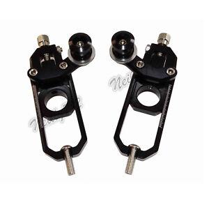 Chain Adjusters Tensioners Spools Black For HONDA CBR600RR 07-19 CBR1000RR 08-16