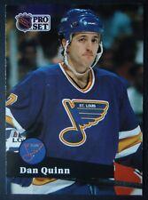 NHL 209 Dan Quinn St. Louis Blues Pro Set 1991/92