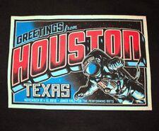 EDDIE VEDDER - Houston TX T-Shirt Size XL - November 12 13 2012 pearl jam texas