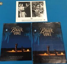 THE LEGEND OF BAGGER VANCE (2000) vintage Press Kit with photo and letter