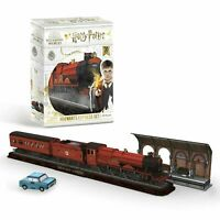 Harry Potter Hogwarts Express 3D Puzzle With No Need For Tools Or Scissors NEW