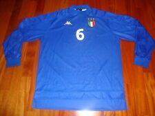Maglia Italia Nazionale calcio indossata/match worn - Nesta/Negro/Gattuso