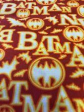 BATMAN LIMITED  EDITION HALLOWEEN 100% COTTON FABRIC FAT QUARTER MARVEL HEROES