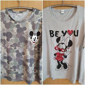 2 Damen Shirts Disney Gr 52 52 top Zustand