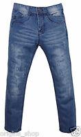 Jeans Enfant Garçon Bleu Délavé - Taille 4 à 16 ans