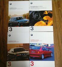 4 x BMW 3er,E36. Compact,Touring,Coupe. Sonderausstattung     Autoprospekte1997