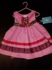 Matilda Jane Girls Dress 2 Calypso Paint By Numbers Pink